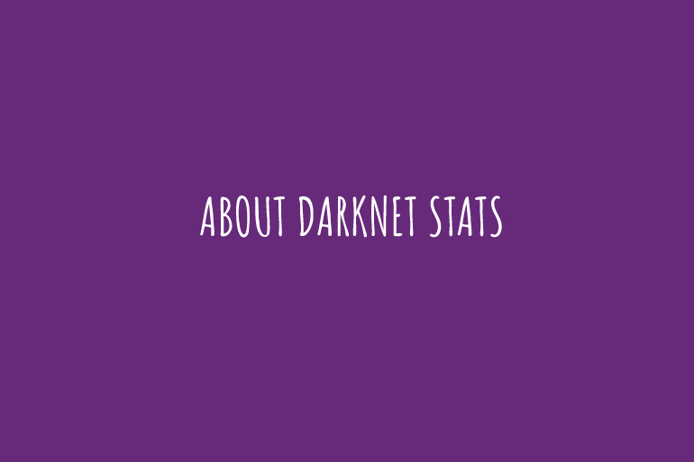 about darknet stats