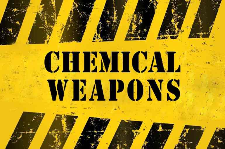 chemical weapons dark web