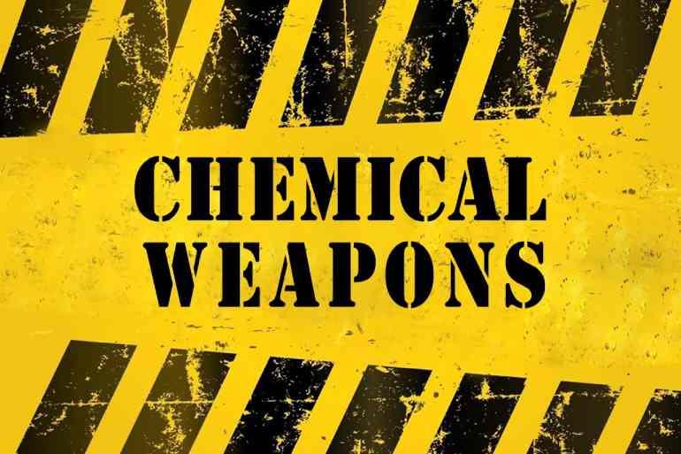 chemical weapons dark web