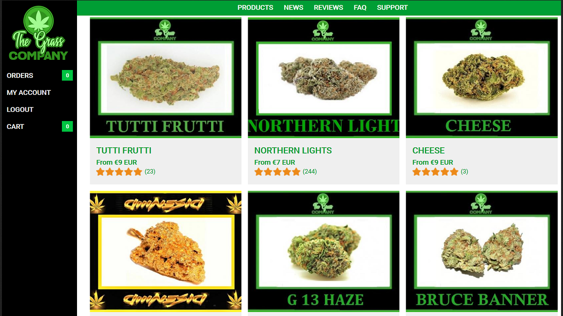 The Grass Company products page 1