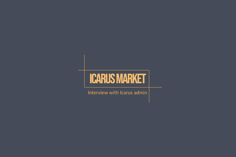 interview with icarus market admin